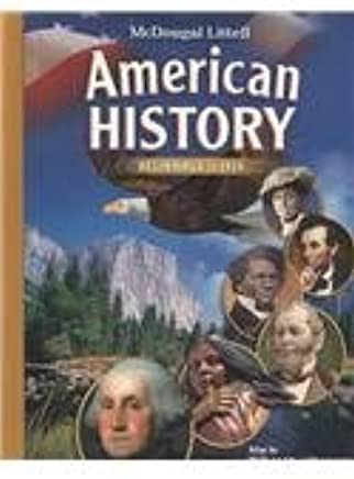 American History Grades 6 8 Beginnings To 1914