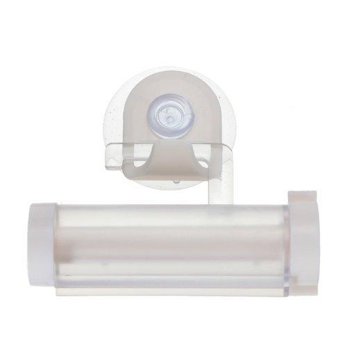 Flushbay ローリングスクイーザー歯磨き粉ディスペンサーチューブパートナーホルダーサッカー (白)