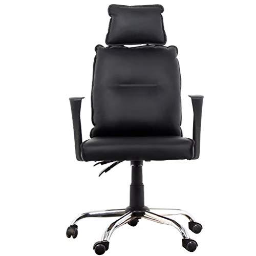 wsbdking Executive Office Chair, langlebig und stabil, höhenverstellbar (schwarz)