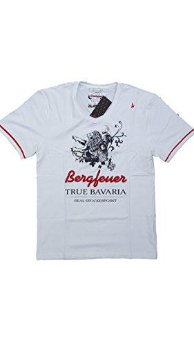 Stockerpoint Herren Trachtenshirt Orlando Bavaria Bergfeuer L Gaudi Wiesn Oktoberfest T-Shirt Landhaus