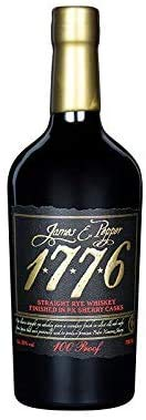 James E. Pepper 1776 Rye Sherry Cask 0,7 Liter Straight Rye Whiskey Finnished in Sherry Cask 50% Vol.