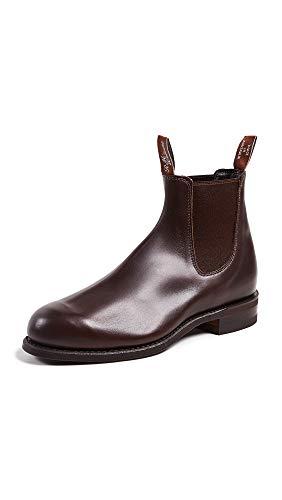 R.M. Williams Men's Comfort Turnout Boots, Rum, Brown, 8.5 Medium US