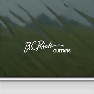 bc rich decal