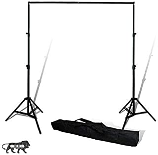 SONIA Photography Stand Kit Background Support System Kit Portable Foldable with Bag