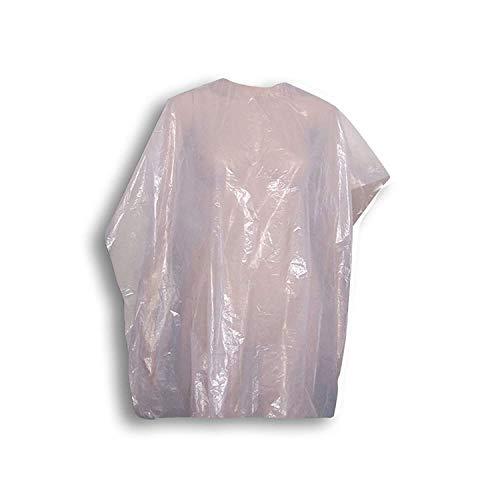 Femmas 30 capas desechables para peluquería, capa desechable, capa transparente (1 paquete)