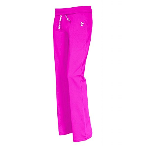 GIMER Fitness/Palestra Pantalon Femme, Fuchsia, XL