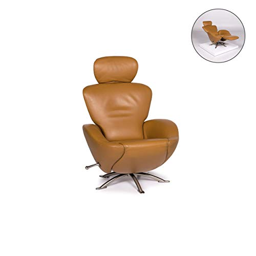 Cassina Dodo Leder Sessel Cognac Braun Relaxfunktion Funktion #11990