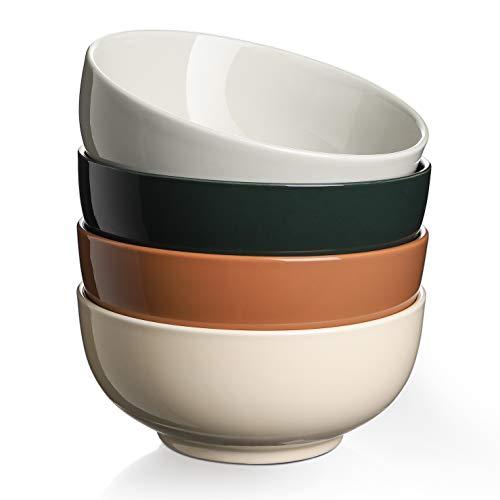 DOWAN 大地色陶瓷汤碗 4个装