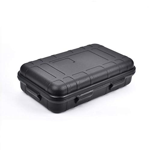 CZ-XING Caja de almacenamiento de supervivencia al aire libre portátil a prueba de golpes e impermeable caso de supervivencia hermético de grado alimenticio PP caja de transporte para acampar