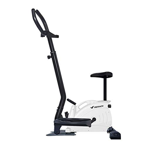 DSY Home Mute Stepper Magnetic Control Fitness Equipment Weight Loss Indoor Elliptical Treadmill Pedal Give The Lover The Best Gift Bearing 100kg (Color : White, Size : 49 75 130CM)