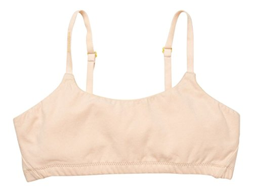 Yellowberry Pipit Bra - Great First Bra for Teens and Tweens, Best Training Bra (XS, Kit)