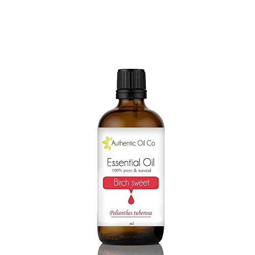 Aceite esencial de abedul 100% natural (10 ml, 50 ml, 100 ml)