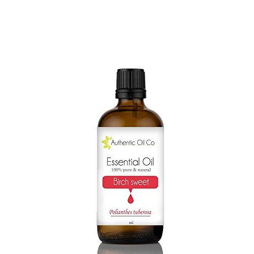 Authentic Oil Birke 100 % natürliches ätherisches Öl (10 ml, 50 ml, 100 ml)