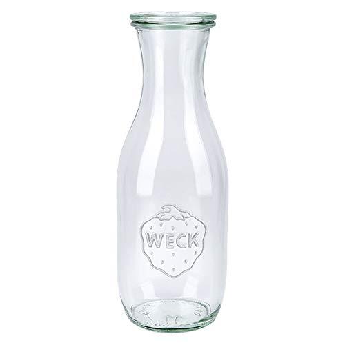 6x WECK-Saftflasche 1062ml mit Deckel