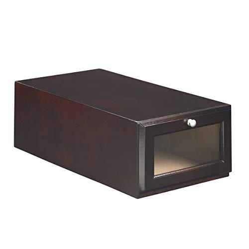 ShoeTrap Mahogany Standard Shoe/Sandal Storage Box ST-10MA