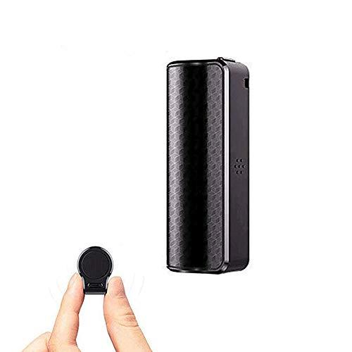 Registratore Vocale Spia, Micro Registratore Vocale da 16GB con Attivazione Vocale Registrazione fino a 15 Giorni con Calamita e Impermeabile, Ideale per Lezioni, Meetings, Interviste, fino a 192 ore