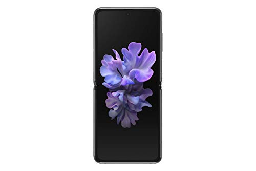 Samsung Galaxy Z Flip 5G Factory Unlocked New Android Cell Phone   US Version Smartphone   256GB Storage   Folding Glass Technology  Long-Lasting Mobile Battery   Mystic Gray -(Renewed)