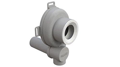 Siphonly® Urinal Ablauf | Urinal Siphon | Unterputz Absaug Sifon Abgang waagrecht | DN 50 mm