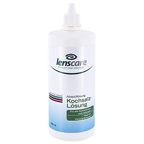 LENSCARE Kochsalzloesung, 380 ml
