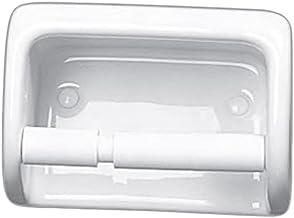 Idial Ceramic Toilet Roll Holder - White