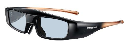Panasonic TY-EW3D3LE Aktive 3D-Shutterbrille für TV und Projektoren schwarz Größe L