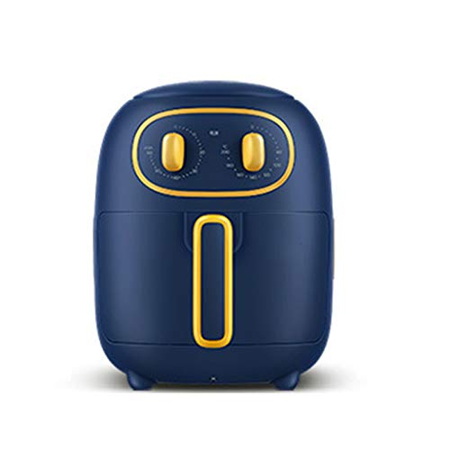 WLIXZ Home/Kitchen Health Air Fryer Freidora De Aire Digital De 3 litros, Airfryer Sin Aceite De Doble Perilla, Canasta Antiadherente Apta para Lavavajillas, Comida Rápida Más Saludable