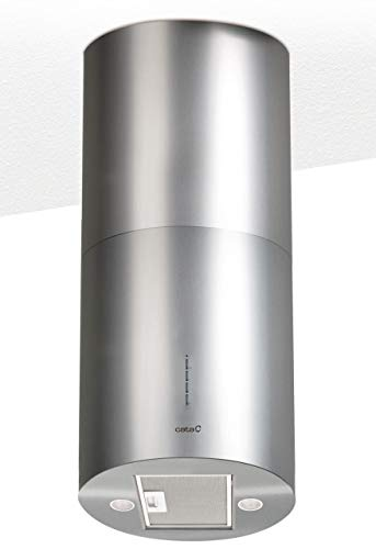 CATA Modelo Isla Faro X | 3 extracción | Campana extractora Cocina 800m3/h-340m3/h | Acabado en Acero Inoxidable | [Clase de eficiencia energética, 2 Velocidades