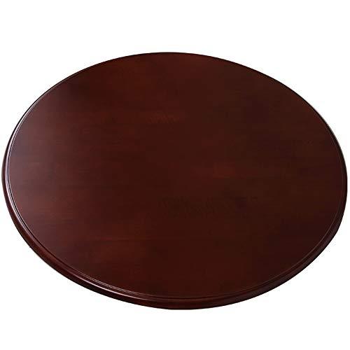 ZLYD 80 Cm / 90 Cm / 100 Cm / 110 Cm Giradischi Wood Lazy Susan, Piatto Girevole Rotondo in Legno per Tavolo da Pranzo, Controsoffitto della Cucina, Rotazione Regolare A 360 Gradi