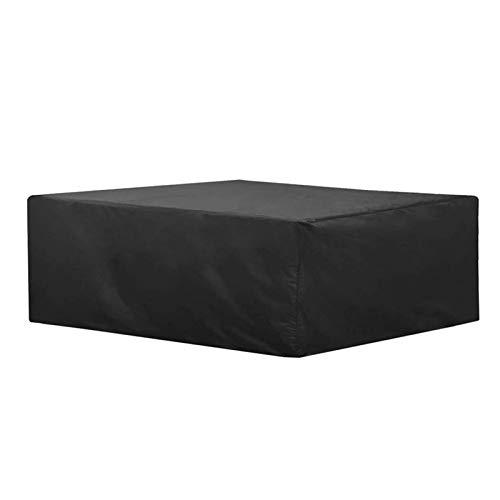 ZXHQ Funda Muebles Jardin Impermeable 200x140x70cm, Cubierta Mesa JardíN Patio, Patio Muebles Protectora A Prueba Viento Anti Rayos UV Resistente Al Polvo para Mesas Y Sillas