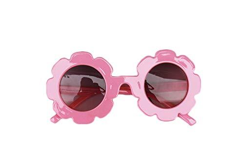 Lily.Pie Gafas de sol redondas antiUV para niñas pequeñas, coloridas, ideales para fiestas, fotografías, playa, al aire libre