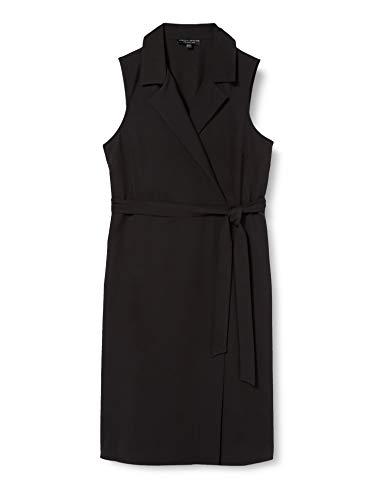Dorothy Perkins Damen Black Tux Belted Pencil Dress Lässiges Kleid, 20