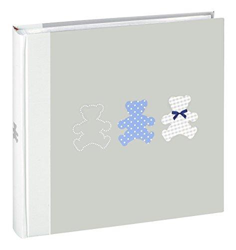 Ceanothe 271225Timotee Fotoalbum Baby Traditionelles mit 60Seiten Papier grau 30x 30cm