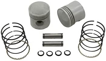 Oakland Mall V-TWIN MANUFACTURING 3-5 16 Piston Oversize Set for Free shipping .020 Harley