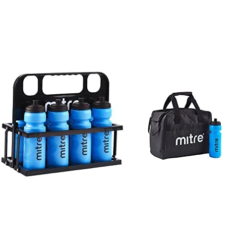 Mitre Botellas De Agua De 80 Cl Y Caja De Plástico + Bag And Bottle Set - Black