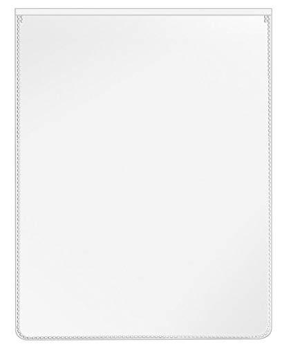 VELOFLEX 3109500 Schutz- und Ausweishülle für DIN A6, PP-Folie, mit Einreißschutz, dokumentenecht, 20 Stück