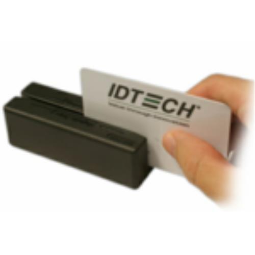 ID TECH MiniMag Duo - Magnetkartenleser (Spuren 1, 2 und 3) - USB - Schwarz (IDMB-354133B)