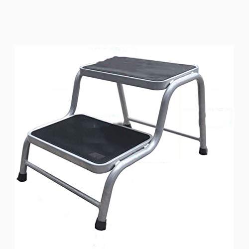 PLKZ Huishoudelijke Stap Kruk, Koolstofstaal Multifunctionele Platform Ladder Geschikt voor Volwassenen