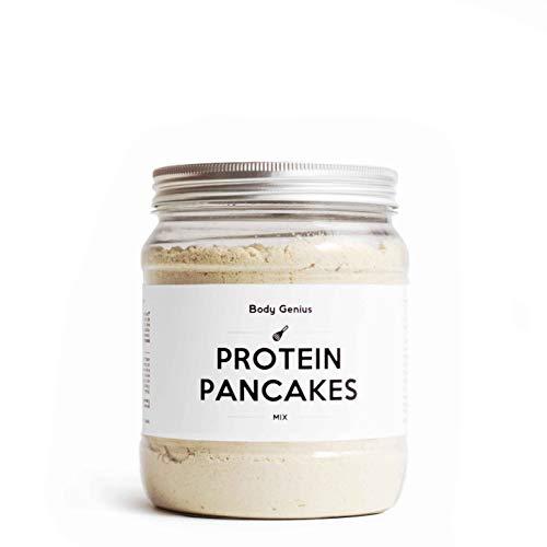 Body Genius Smarter Nutrition Protein Pancakes Tortitas Proteicas Saladas, Fáciles de Hacer, Queso Pecorino - 400 g