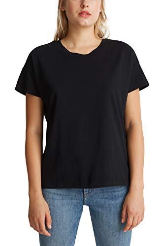 edc by Esprit 990CC1K304 Camiseta, 001/negro, M para Mujer