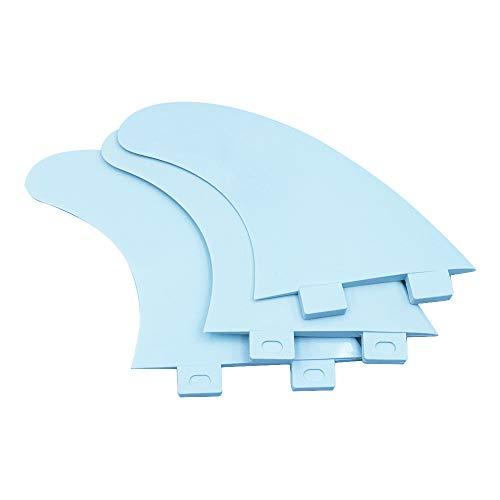 Namvo 3Pcs FCS Surfboard G5 Fins Plastic Surfing Board Fins Style Thruster...