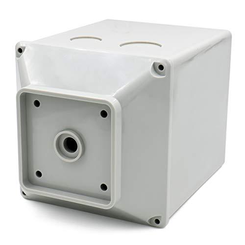 Heschen Master Switch Caja exterior LW28-63/4 funciona para interruptor de leva giratorio universal SZW26-63 660V 63A 3 posiciones 3 fases