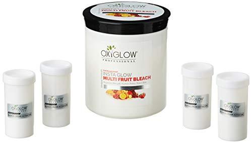 Oxyglow Herbals Fruit Bleach Cream, White, 1000 g