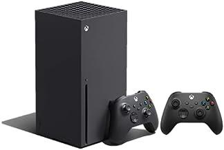 وحدة تحكم Xbox Series X مايكروسوفت مع وحدة تحكم لاسلكية اسود