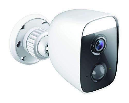 D-Link DCS-8627LH Full HD Outdoor Wi-Fi Spotlight Camera (Alexa & Google kompatibel, 150 Grad Blickwinkel, Nachtsichtfunktion, Bewegungs- und Geräuscherkennung, Personenerkennung, Sirene, Flutlicht)