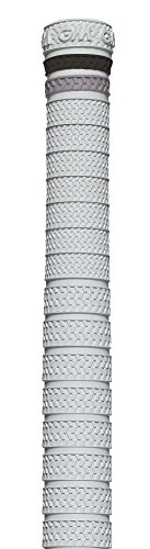 Gunn & Moore GM Terrain Grip – Weiß/Schwarz/Silber, 30,5 x 3,8 cm