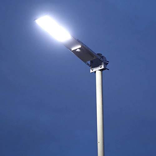 HFFFHA 2020x Outdoor Wasserdichter Bewegungssensor Solarbetriebene LED-Pole Wall Street-Pfad-Licht für Garten 3 Arbeitsmodi