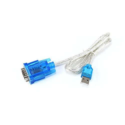 NICEDINING Módulo Controlador Nuevo HL-340 USB a RS232 COM Porter Serial PDA 9 Pin DB9 Adaptador de Cable Support Windows7 64