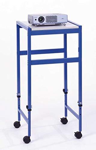 Compra Mobiler Laptopwagen - Höhenverstellbarer Laptop- / Beamer- / Projektortisch mit Vier Rollen, Silber