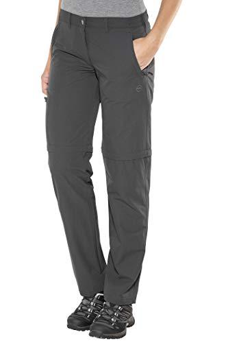 High Colorado Chur 3 Pantalon de randonnée Convertible Fermeture éclair Femme, Anthracite Modèle 40 2020