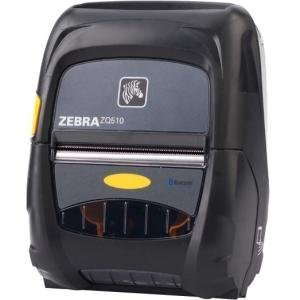 """Zebra Technologies ZQ51-AUE0010-00 Series ZQ510 Mobile Printer, 3"""" Print Width, Bluetooth 4.0 Without Battery, Group O"""